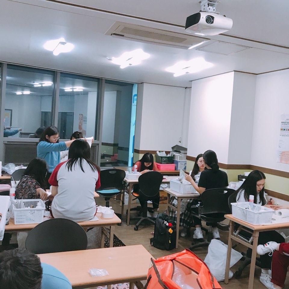 네일국가자격증 연습중~~^^
