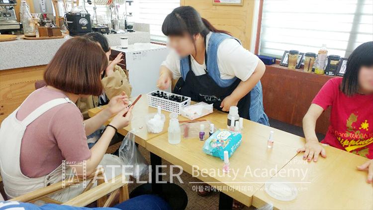 전북푸른학교 네일아트수업