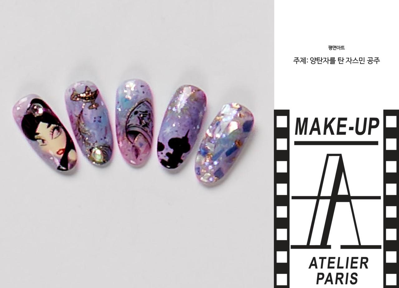 네일아트부문-평면아트-박다빈 학생 작품