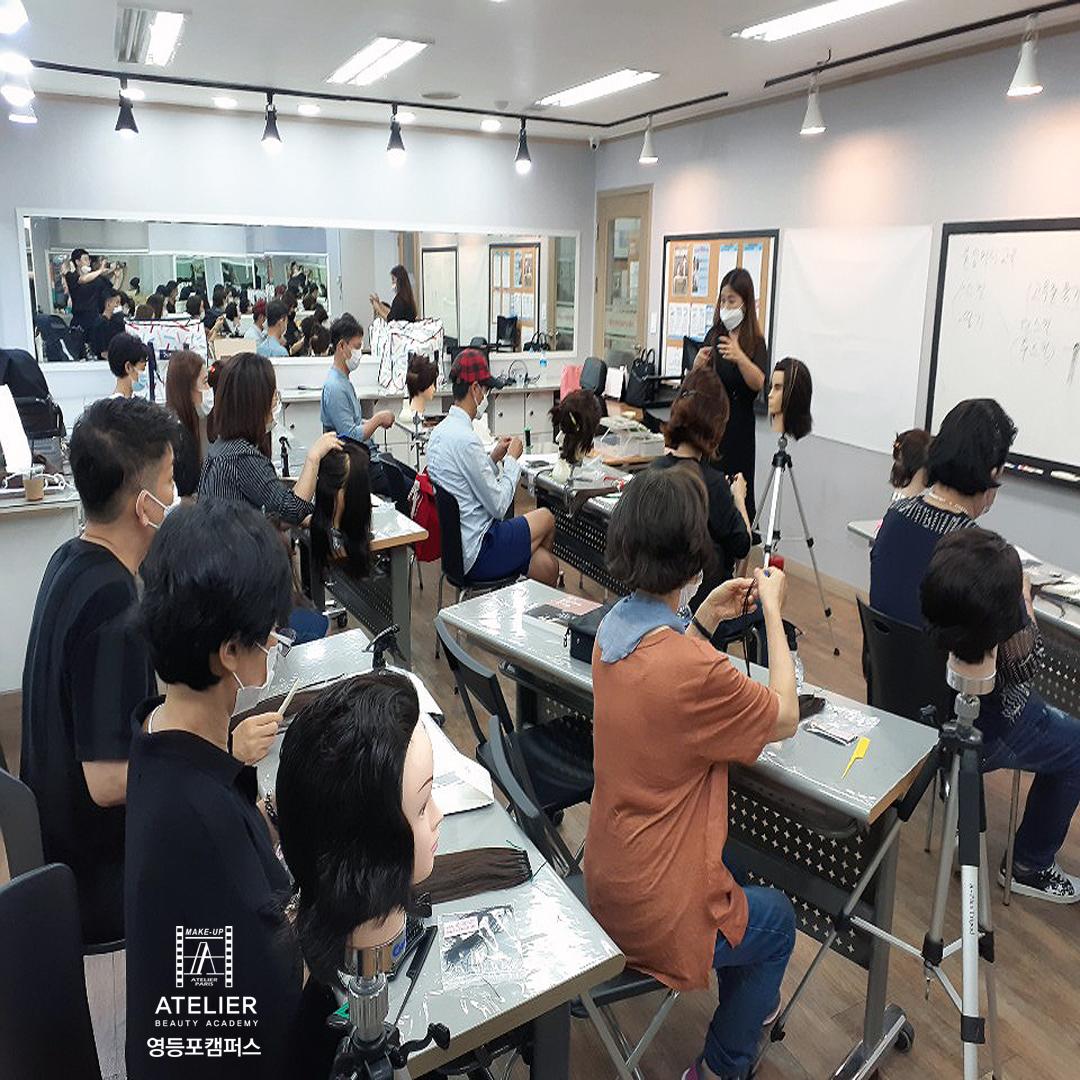 소상공인 가발,증모,붙임머리 전문기술교육(1)