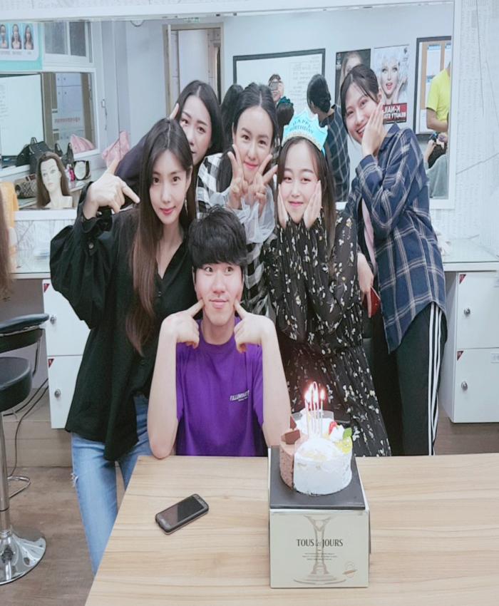 ★업스타일반 생일파티★